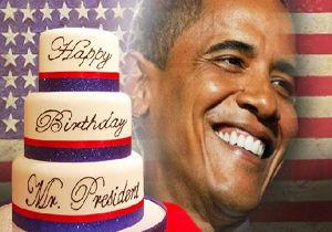 برگزاری یک مجلس رقص محرمانه به مناسبت تولد اوباما!