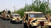 رژه خودرویی روز ارتش در گرگان برگزار شد