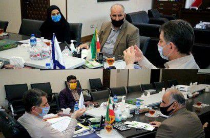 دیدار مدیرکل هواشناسی گلستان با رئیس سازمان مدیریتوبرنامهریزی استان