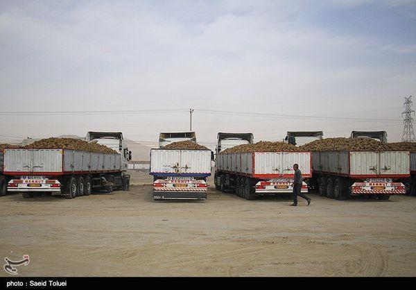 حمل و نقل محصولات کشاورزی استان گلستان با ۱۵ هزار دستگاه کامیون