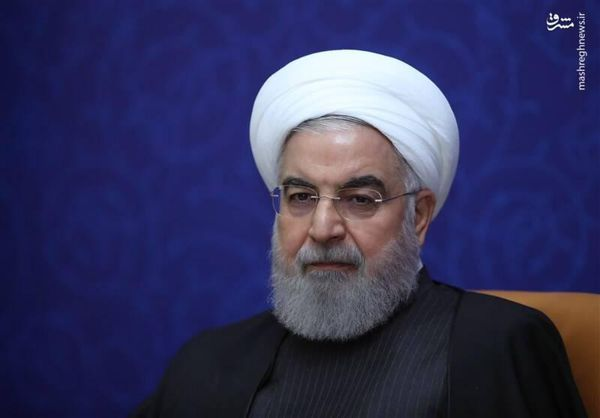 فیلم/ روحانی: ریشه همه غمها به آمریکا برمیگردد