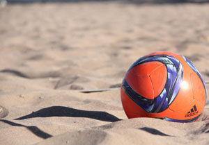برگزاری مسابقات فوتبال ساحلی امیدهای کشور در بندرگز