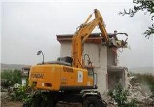 تخریب ساخت و ساز غیرمجاز درمحور تنگراه