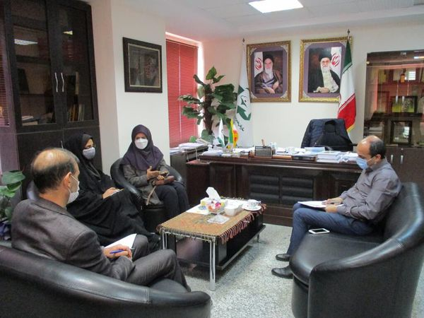 دیدار مدیرکل کانون با مدیرعامل سازمان مدیریت پسماند گلستان