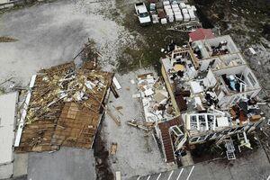 """فیلم/ ویرانیهای وحشتناک """"طوفان سالی"""" در آمریکا"""