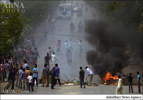 مسیحیان دو مظنون را زنده زنده سوزاندند +تصاویر(۱۸+)
