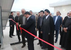 بهره برداری سومین پنل خورشیدی استان در دادسرای گرگان