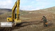 ۶۰۸ هکتار از اراضی ملی گنبدکاووس رفع تصرف شد