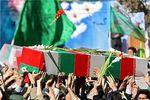 """پیکر سرباز شهید مرزبانی """"میلاد جور"""" اهل علی آباد کتول  9 صبح فردا تشییع می شود"""