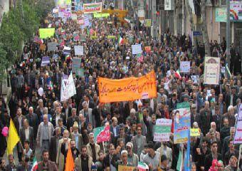 گزارش تصویری/ راهپیمایی باشکوه مردم گرگان در 22 بهمن