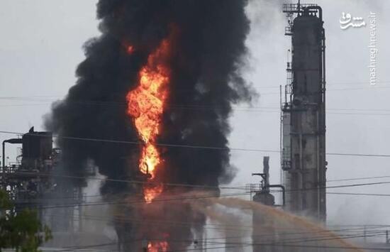 فیلم/ انفجار مرگبار لوله گاز در کنتاکی آمریکا