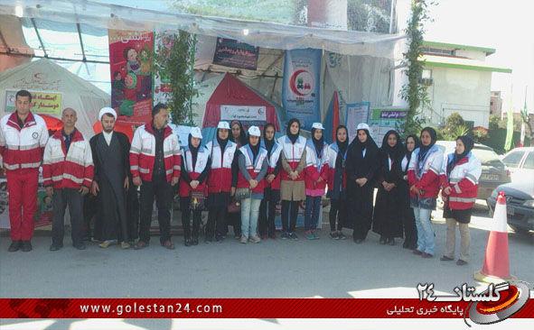 افتتاحیه کمپین ایمنی سلامت مسافرین نوروزی و طرح سحاب در کردکوی