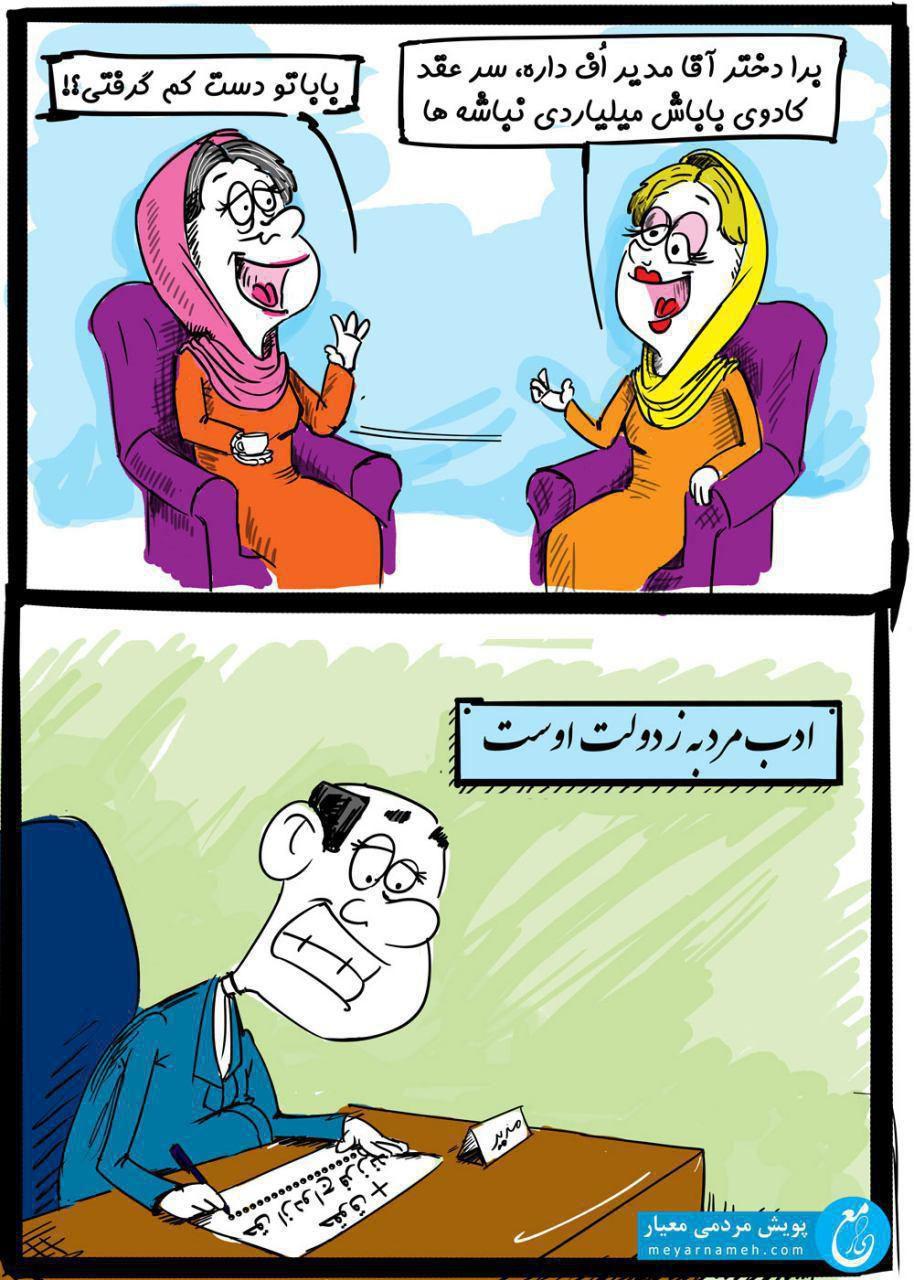 کاریکاتور تجمل گرایی (9)