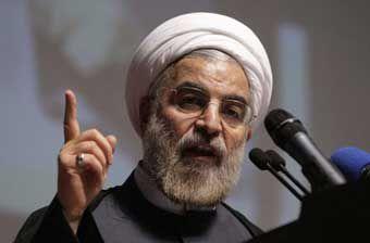 بی مهری به خبرنگاران در سفر روحانی به گلستان