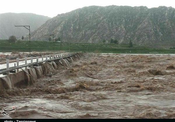 هشدار وقوع سیل در استان گلستان صادر شد