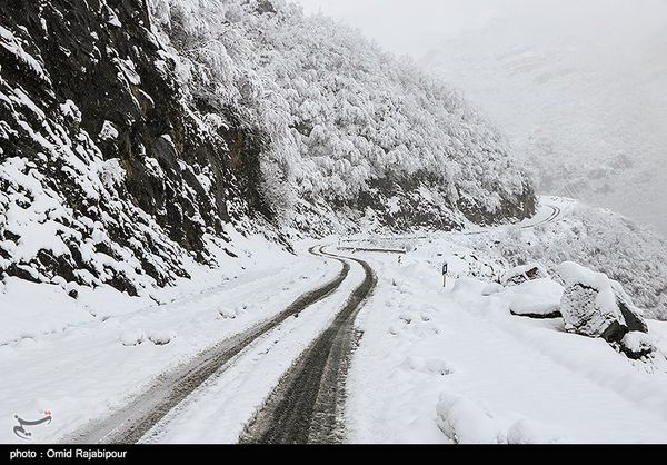 ۸۵ سانتیمتر برف در مناطق کوهستانی استان گلستان ثبت شد