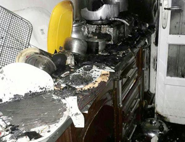 آتش سوزی دو منزل در بندرترکمن خاموش شد