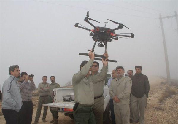 پهپاد محیطزیست گلستان به کمک محیطبانان میآید