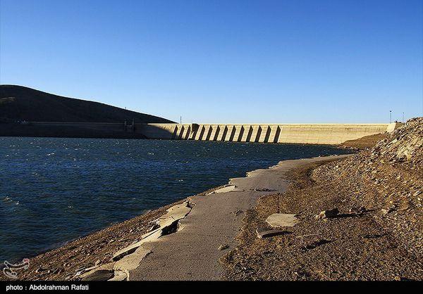 کاهش ۳۵ درصدی آب موجود در سدهای استان