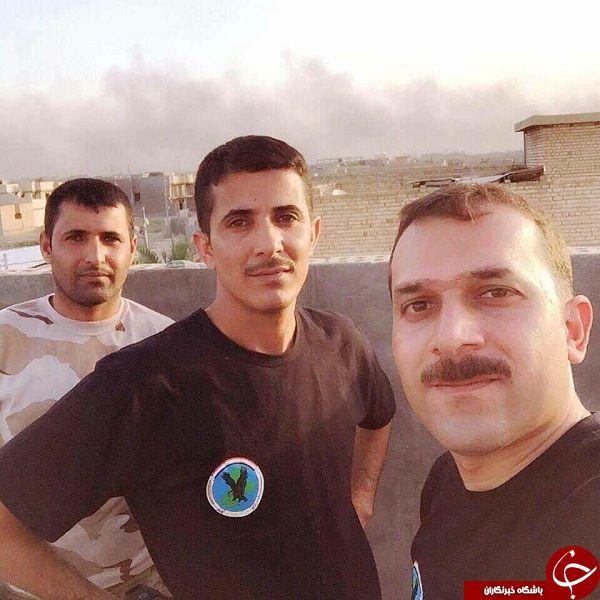 عکس/ اولین سلفی مدافعان حرم بعد از آزادی فلوجه
