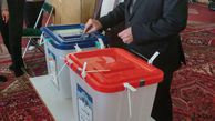 محسن رضایی در پای صندوق رای