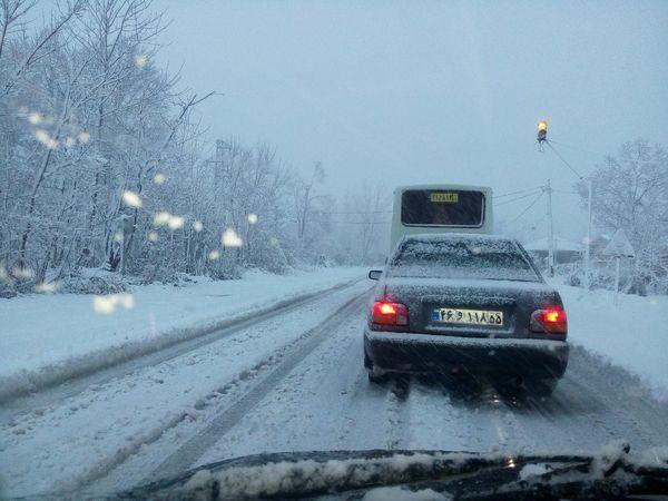 بارش برف و باران در 5 استان کشور