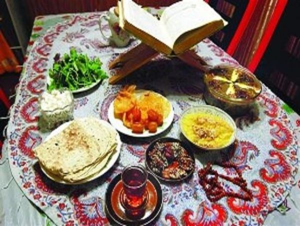 ویژه برنامه افطاری ساده در امامزادگان و بقاع متبرکه گلستان