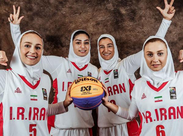 اولین برد تاریخ بسکتبال زنان ایران با حضور سرمربی و بازیکن گلستانی