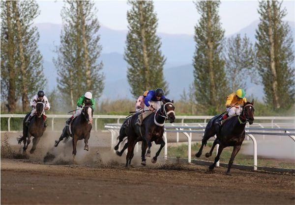 هفته ششم مسابقات اسبدوانی کورس پائیزه در گنبدکاووس برگزار شد