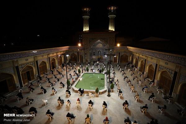 عزاداری محرم در مسجد جامع گلشن گرگان