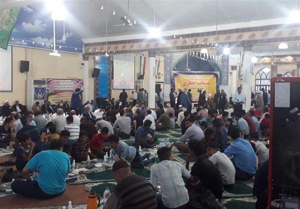ضیافت افطاری ۱۰ هزار نفری وحدت شیعه و سنی در گنبدکاووس+تصاویر
