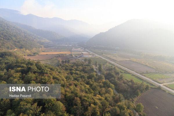 آسیب آتش به ۲۰۰ هکتار از جنگلهای هیرکانی گلستان