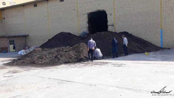 160 تن کنجاله سویا در شهرستان ترکمن ضبط و معدوم سازی شد