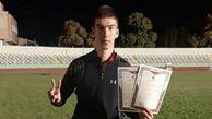 کسب 2 مدال نقره توسط دانش آموز گنبدی در مسابقات قهرمانی کشور