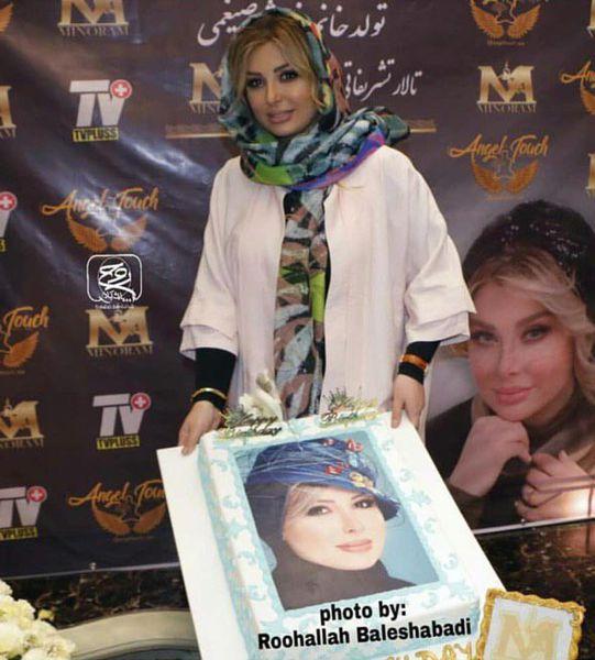 جشن تولد لاکچری بازیگر زن مشهور