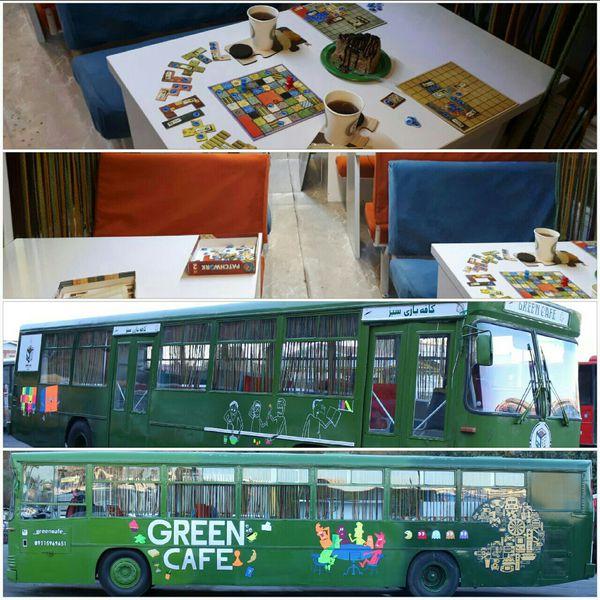 افتتاح اولین اتوبوس کافه بازی سیار کشور در گرگان