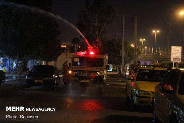 ضدعفونی معابر شهری گلستان/۳۰ هزار بسته بهداشتی توزیع می شود