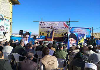 گزارش تصویری/ افتتاح بیمارستان صحرایی در منطقه مرزی کرند گنبد