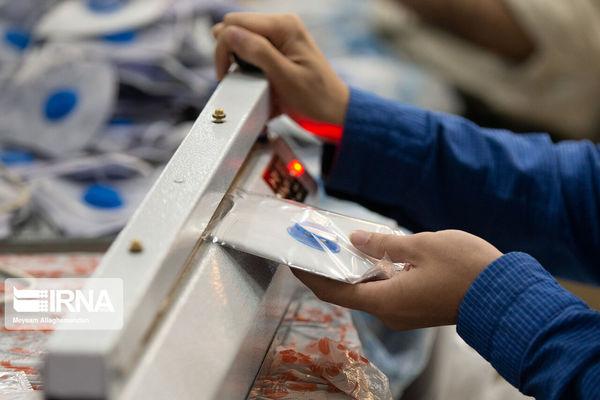 خط تولید ماسک در گلستان راهاندازی شد