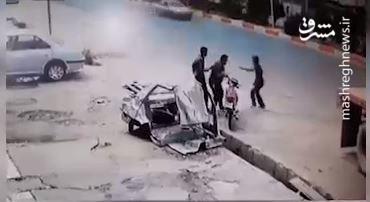فیم/ دستگیری موتورسوار کیف قاپ با تریلی