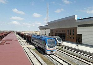 ورود پانزدهمین قطار تجاری چین به حوزه ریلی اینچه برون