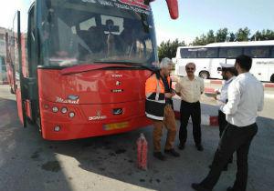 کنترل اجزایی وسایل نقلیه برای تامین ایمنی حمل و نقل عمومی