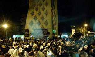 برگزاری مراسم معنوی احیای شب های قدر در تپه نورالشهدا