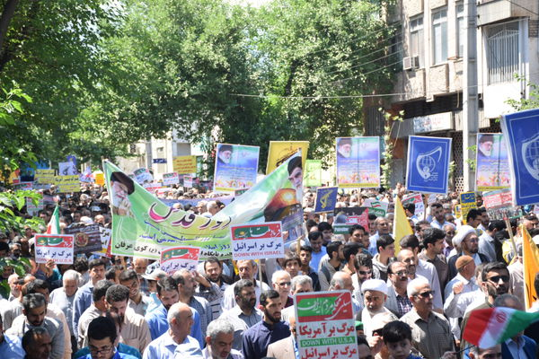 حضور پرشور مردم گلستان در راهپیمایی روز قدس
