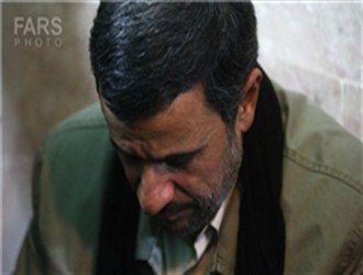 مادر محمود احمدی نژاد دار فانی را وداع گفت