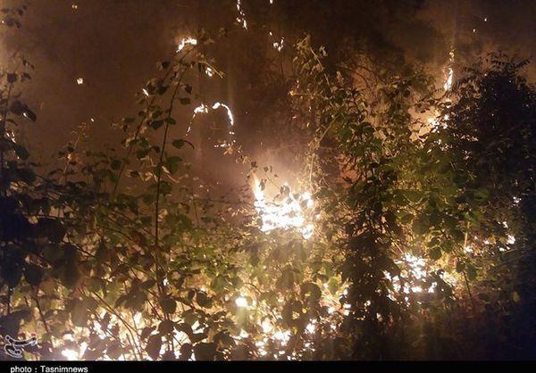 ۲ دستگاه بالگرد برای مهار آتشسوزی در جنگل کلاله اعزام شد