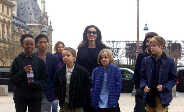 شکایت انجلینا جولی از همسر سابقش! + عکس