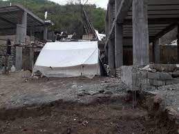 مشکلات اهالی روستای زلزله زده ویرو رامیان