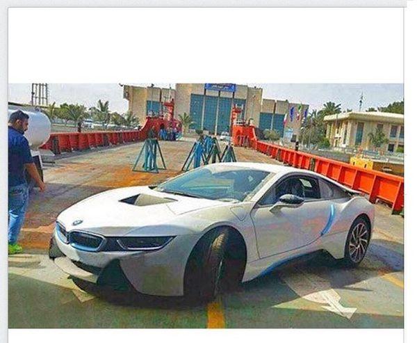 ورود یک BMW خاص به ایران + عکس