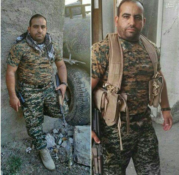 عکس/ لیدر پرسپولیس مدافع حرم شد